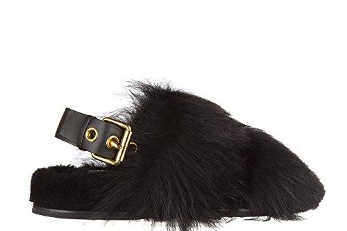 Car Shoe sandales femme en cuir montone gitana noir EU 35 KDX12M 3H1I F0002