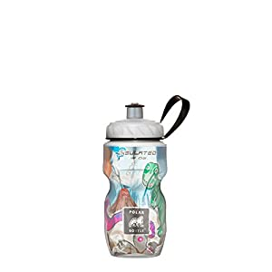 Polar Bottle Insulated Water Bottle (Dino Might) (12 oz) - 100% BPA-Free Water Bottle - Perfect Cycling or Sports Water Bottle - Dishwasher & Freezer Safe