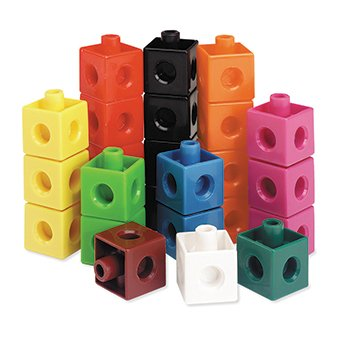 picture of 7 Pack LEARNING RESOURCES SNAP CUBES SET OF 100
