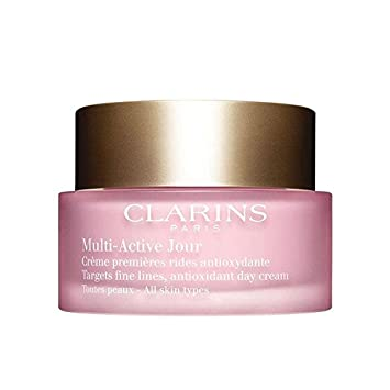 Clarins Multi-Active Day Early Normal To Combination Skin Wrinkle Correction Cream-Gel, 1.6 Ounce