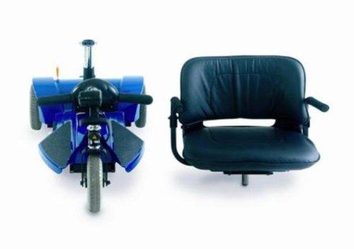 Mega Motion 3 Wheel Travel Pal Scooter Blue Electric