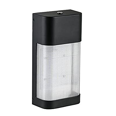 Defiant LED Outdoor Dusk to Dawn Area Flood Wall Pack Light-DW9582BK-C