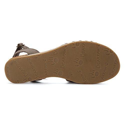 Bearpaw Womens Amelia Brown