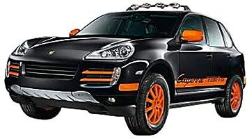 Schuco 452574100 Porsche Cayenne S Transsyberia - Coche a escala 1:87 en color negro