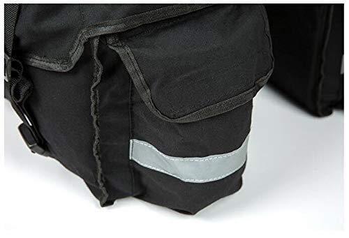 Zixingchebao Bolsa Pannier Bolsa para Bicicleta De Asiento Trasero Impermeable Bolsa De Bicicleta Silleta Trasera Alforjas Accesorios
