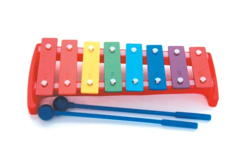 Music Treasures Co Multicolored 8-Note Metallophone by Music Treasures Co.