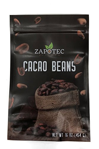 - Zapotec Kitchen Organic Raw Cacao Beans, Raw Criollo Cacao Beans(100% Organic)