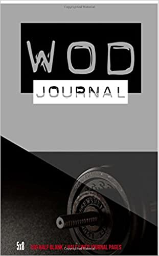 crossfit journal workout log book fitness journal for exercise