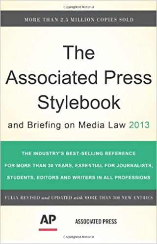 The Associated Press Stylebook 2013 (Associated Press Stylebook and
