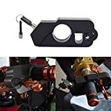 Motorcycle Lock A Grip Throttle Brake Handlebar Lock to Secure a Bike Scooter Moped or ATV in Under 5 Seconds (Black)