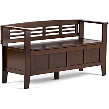 linon home decor cynthia storage bench walnut linon back storage bench walnut 13668
