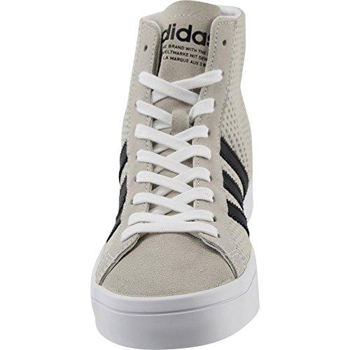 Adidas High Ftw Fashion Core Ftw Black Courtvantage Sneaker White Mid White Top Women's rwtpqr