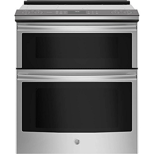Electric Convection Slide In Range - GE Profile PS960SLSS 30 Inch Slide-in Electric Range with Smoothtop Cooktop, in Stainless Steel