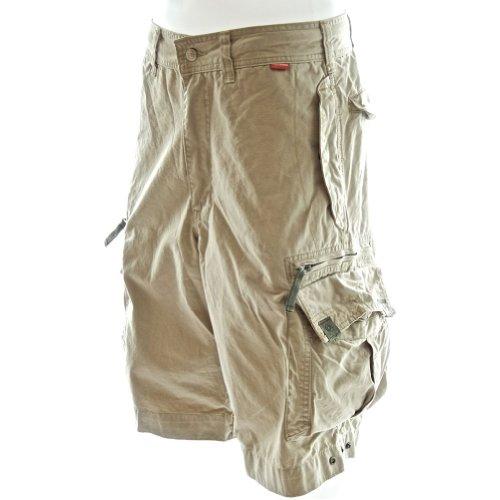 ... Shorts 45020 Strandstoßstange Qualität Wüste Shorts Herren 100 Cargo  Premium Khaki creme Baumwolle Mehrzweckkampf Draussen für ... 25db8bd6f5