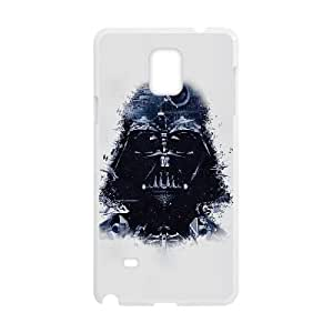 Samsung Galaxy Note 4 Cell Phone Case White Darth Vader Art Star Wars Illust LSO7779498