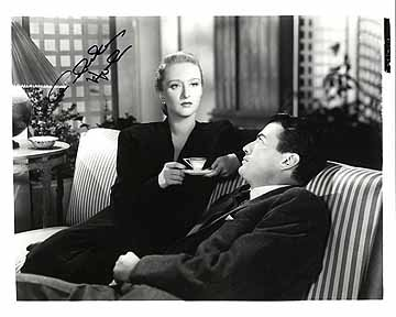- CELESTE HOLM (The Gentleman's Agreement) 8x10 Celebrity Photo Signed In-Person