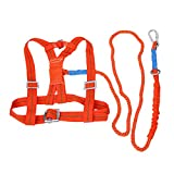 Homyl 3 Meters Safety Harness Fall Arrest for Spiderman, Rescue, Construction 100kg, Adjustable