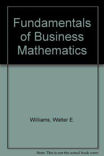 Fundamentals Business Math