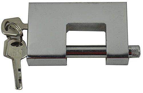長方形形状正方形D 70 mm Heavy Dutyスチールセキュリティロック B014JJLQK0