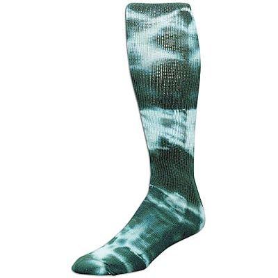 (Dark Green, Medium Tyed Dye (Tye Dyed) Knee High Socks for All Sports (Volleyball, Softball, Etc). 8 Tye Dye Colors, 3 Sizes (Dark Green, Medium))