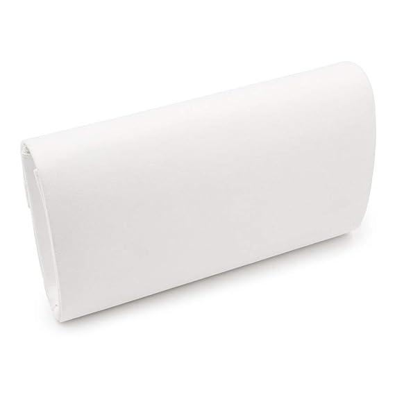 Danse LLUFFY- Clutches Pochettes Sac de Banquet /à la Main Blanc Mariage f/ête Convient /à Une f/ête Sac /à Main 25 * 15 * 6cm Sac /à bandouli/ère Diagonale