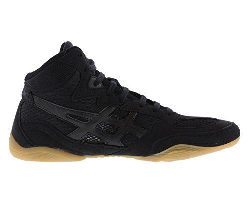 ASICS Men's Matflex 4 Wrestling Shoe,Black/Onyx,11 M US