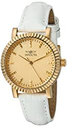 Invicta Women's 22483 Angel Analog Display Quartz White Watch