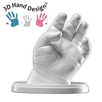 Hand Casting Kit 3D Plaster Handprint Footprint Baby Mould Hand/&Foot Casting Prints Kit Cast Gift Precious Impressions