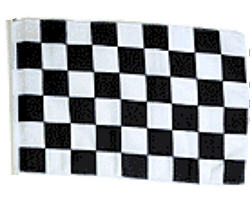 "Advertising Black White Checkered Checker Racing 12""x18"" Sle"