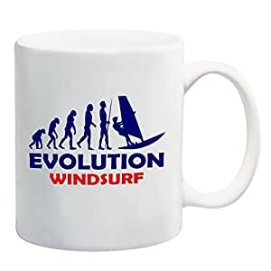 Evolution windsurf taza regalo present