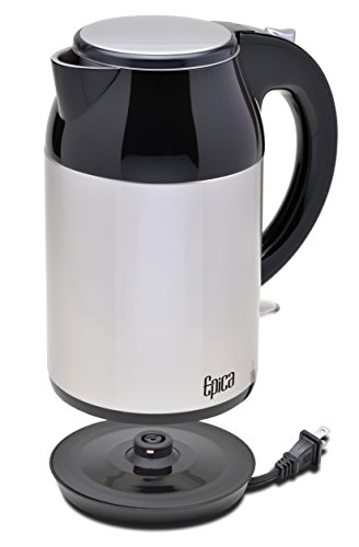 Best Rated Electric Kettle ~ Epica top rated cordless stainless steel electric kettle