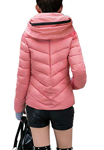 Blouson Femme Hiver Doudoune Loisir Quilting Fashion Doudoune Manteau Vintage Automne Longues Chaud Manches OO7ZRSUBq
