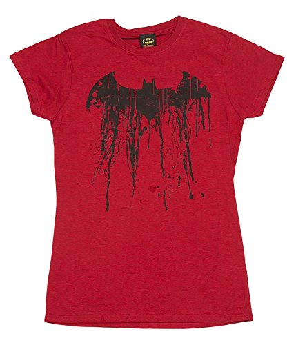 Batman Ladies T-shirt (TruffleShuffle Women's Batman Graffiti Logo T-Shirt)