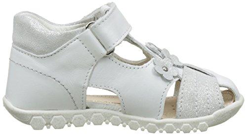 Primigi Pbn 7055 - Primeros Pasos de Otra Piel Bebé-Niños, blanco ( Blanc (Bianco/Argento)