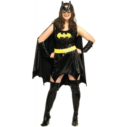 [Batgirl Plus Size Halloween or Theatre Costume] (Adult Plus Size Batgirl Costumes)