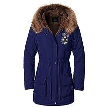 Women`s Faux Fur Lined Hooded Winter Parkas Coats