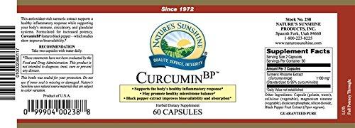 Curcumin BP Antioxidant Inflammatory Support60 Caps