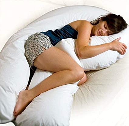 Amazon Com Moonlight Slumber Comfort U Total Body Support Pillow