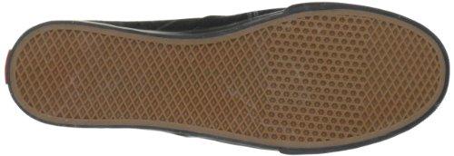 Vans U AUTHENTIC LO PRO VGYQ1W5 - Zapatillas de deporte de tela unisex, color negro, talla Fällt aus Normal Negro (Schwarz/Black/Black)