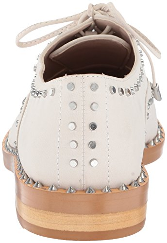 White Women's Nubuck Nubuck Off Oxford Garroy Flat Nine West 10qnO5xT