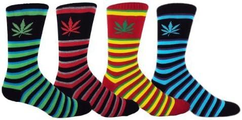 MOXY Socks The Skater Crew 4-Pack