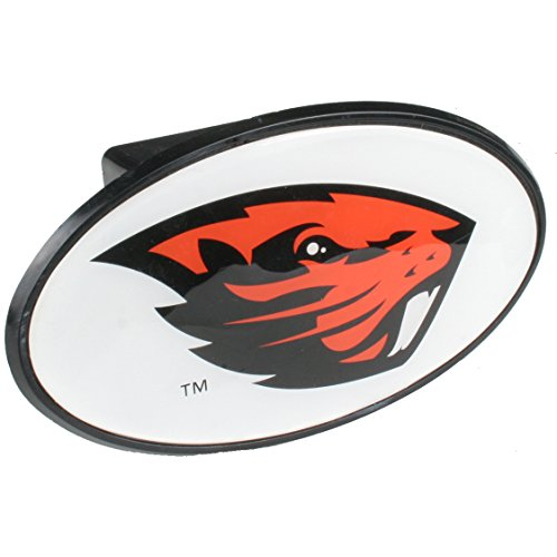 Logo Products Oregon State Beavers Hitch Receiver Cover Snap Cap - White