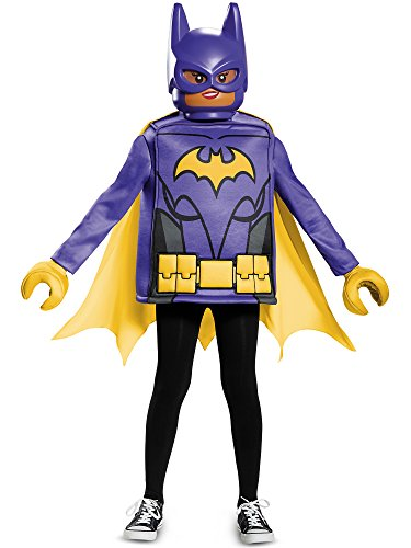 Disguise Batgirl Lego Movie Classic Costume, Black, Medium (7-8)]()