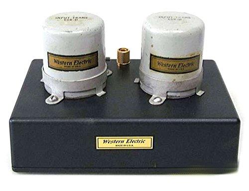 WESTERN ELECTRIC mc用昇圧トランス 618-D オリジナル布ダストカバー [プレゼント セット]   B074BG18MC