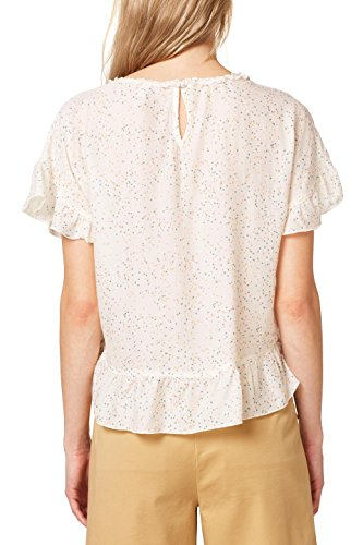 Esprit 110 Off Multicolore Femme Blouse White 0FrTq0w