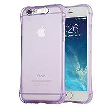 iPhone 7 Plus Case, Febe iPhone 7 Plus Illuminated Case, LED Light Up Luxury Fashionable Luminous Crystal Case for iPhone 7 Plus - Purple