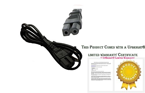 Price comparison product image UpBright New AC IN Power Cord Cable Plug Lead For SINGER Sew Mate Sewing Machine Series 5400 5500 5625 6160 120, 125, 130, 135, 140, 145, 150, 153, 155, 160, 163, 165, 170, 180, 185, 190, 200, 220