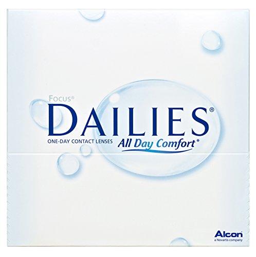 Alcon Ciba Vision Focus Dailies All Day Comfort Tageslinsen weich, 90 Stück / BC 8.6 mm / DIA 13.8 / -1.5 Dioptrien