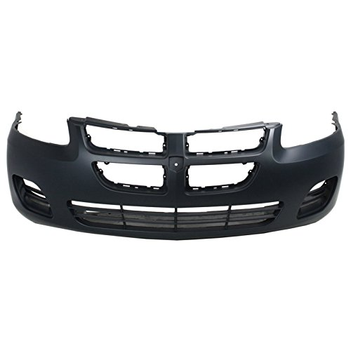 MBI AUTO - Painted to Match, Front Bumper Cover Fascia for 2004 2005 2006 Dodge Stratus Sedan (4-Door) W/Out Fog 04-06, CH1000407