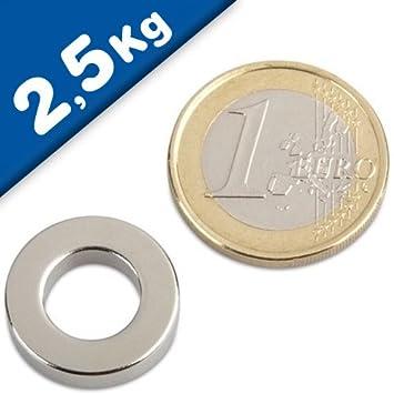 Neodym Magnete 8 x 2 mm Supermagnete hohe Haftkraft Scheibenmagnet N35 10 Stück